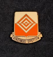 🌟57th Signal Battalion Unit Crest, DI, DUI Pin Badge, Vincimus Spatium