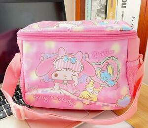 my melody sleep elephant PU square lunch bag handbag storage bags fashion  gift