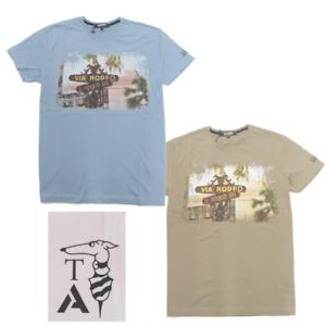 T-Shirt Uomo Manica Corta TRUSSARDI ACTION Stampa Logo Spalla 2AT28 32086