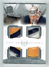 10-11 UD The Cup Foundations  Ryan Miller  /10  Quad Patches