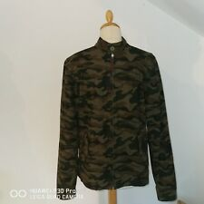 Pretty Green Camouflage Harrington Jacket Small (liam Gallagher, Oasis)