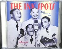 THE INK SPOTS - THEIR GREATEST HITS, CD ALBUM, (1999).