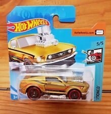 Hot Wheels 2018 TOONED 5/5 '68 MUSTANG METALFLAKE GOLD 157/365 (A+/A)