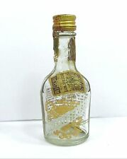 OLD FITZGERALD WHISKEY MD Tax Stamp Empty Miniature LIQUOR BOTTLE Vtg 1/10 Pint