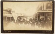 Grass Valley, CA Cabinet Card, Clothing Store in Winter Lot 4045