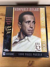 Humphrey Bogart Puzzle 1000 Piece Hollywood Legends New White Mountain Jigsaw