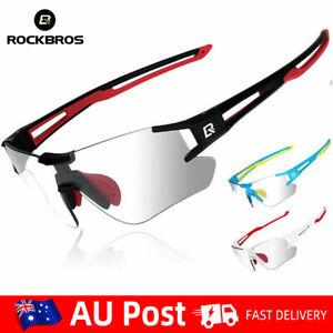 RockBros MTB Bike Road Goggles Photochromic Bike Sports Sunglasses