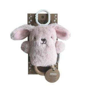 Betsy Bunny Wooden Teether - Pink