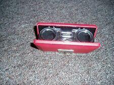 Hamco Sport Glass Binoculars- 25x -folding-red-made in Japan