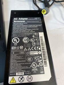 Genuine Lenovo 20v 6.75a AC Adapter, 45N0057, 45N0056