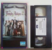 VHS FILM Ita Commedia Horror LA FAMIGLIA ADDAMS 2 CC 28102 no dvd(VHS7)