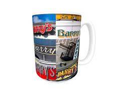 BARRY Coffee Mug / Cup featuring the name in actual sign photos