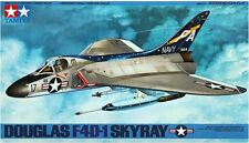 Tamiya 61055 1/48 Scale Fighter Aircraft Model Kit U.S.N Douglas F4D-1 Skyray