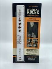 Dan Wieden's Musical Ruler with Complete Beginners Guide Included New - Free Sh