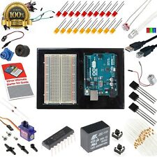 Arduino Uno 3 Ultimate Starter Kit 12 Circuit Learn Guide Vilros Board Led Motor