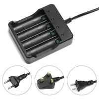 LED Light Indication Intelligent Charger Rechargeable 18650 Lithium Battery