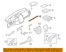 VW VOLKSWAGEN OEM GTI Instrument Panel Dash-Outer Molding Right 1K1858529Z88