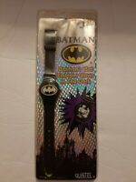 Vintage BATMAN 1991 DC Comics Digital Glow in Dark Wrist Watch! SEALED!