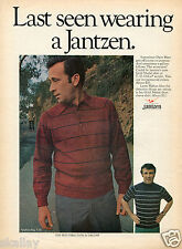 1970 Print Ad of Jantzen Gold Medal Shirts with Dave Marr & Larry Mahan
