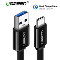 Ugreen USB Type C to USB 3.0 Cable 2.4A Fast Charging for Samsung S9 S8 Macbook