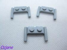 Hole Notched WHEEL DARK B GREY x 4 TW127 11mm D 6014bc01 LEGO x 12mm
