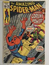 Marvel AMAZING SPIDER-MAN #98 (1971) Green Goblin, Non CCA Approved, Gwen Stacy