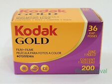 10 rolls KODAK GOLD 200 Color Film 35mm 36exp 135-36