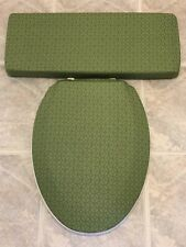 Michigan State Spartans Fleece Fabric Toilet Seat and Tank Lid  Cover Set