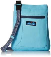 Kavu KEEPALONG BAG Shoulder Travel Cotton Canvas Crossbody Bag MALIBLUE NWT!