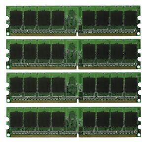 New! 4GB 4X 1GB DELL OPTIPLEX GX280 GX620 RAM MEMORY