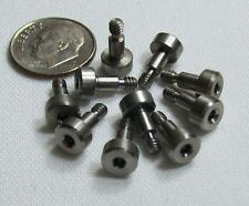 """10 Pc Lot Stainless Shoulder Screw 4-40 x 5/32, shoulder 1/8"""" Dia. by 3/16"""" Long"""