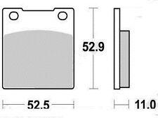 Plaquette frein HONDA CB 250 N RS TWIN/CB 400 650 750/Garniture Organique