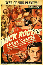 Buck Rogers - Classic Movie Cliffhanger Serial DVD Buster Crabbe Constance Moore
