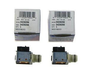 Two ACDelco GM Original 24230298 Shift solenoid kit Solenoid Chevy 4L60E 74421K