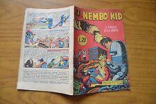 FUMETTO ALBI DEL FALCO NEMBO KID n. 27 8 maggio 1955 32 PAGINE COMPLETO