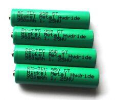 RACING-batteria-Set (4 pezzi) RC-Tec 950gt 1,25hv ADATTO PER MINI-Z
