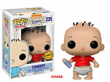 """RUGRATS CHASE TOMMY RED T-SHIRT 3.75"""" POP VINYL FIGURE FUNKO 225 NICKELODEON"""
