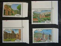 1995 Italia Turismo Serie completo 4 V. bdf MNH