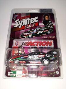 SELENA QUINTANILLA TONY PEDREGON 1998 1:64 NHRA FORD MUSTANG DIE CAST FUNNY CAR!