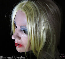 MARILYN MASK B, Real. Female Latex Diva Frauenmaske Crossdresser Transgender Gum