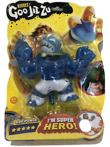 Heroes of Goo Jit Zu Water Blast Thrash the Shark  Action Figure US Seller