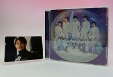 CD+Photo Card SHINee Winter Wonderland Japan Limited Minho