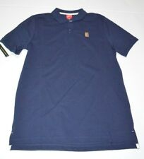 NWT Nike NikeCourt Heritage Tennis Polo Shirt Pique Cotton Navy Blue M Medium
