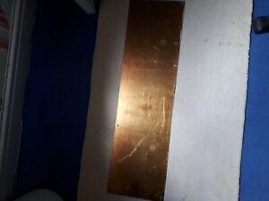 """Vintage Brass Door Kick Plate Old.32""""×9"""""""