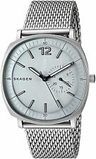 Skagen SKW6255 Rungsted Grey Dial Stainless Steel Men's Watch