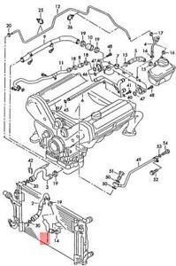 Genuine AUDI A6 Avant S6 quattro 4B2 4B4 4B5 4B6 Coolant Hose 4B3121055H