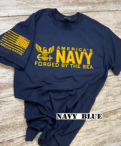US Navy t-shirt featuring new Navy Logo 00