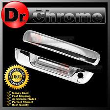 05-13 GMC Canyon Triple Chrome Plated ABS Tailgate Handle with Keyhole Cover
