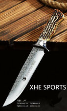 JL 045 Survival Military Bowie Hunting Tactical Pig Sticker knife Full Tang