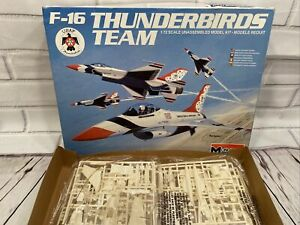 Monogram F-16 Fighting Falcon 1:72 Scale USAF Thunderbirds Team 4pc.